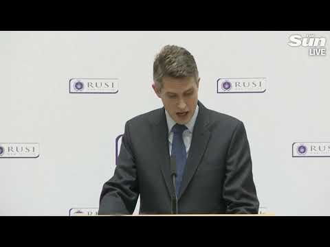 Gavin Williamson on transforming UK defence