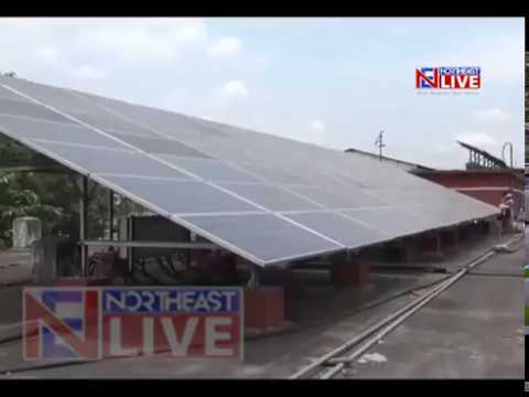 Guwahati Railway station first to run completely on solar power
