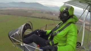 Eurofly Chile, volando el Minifox en Machalí