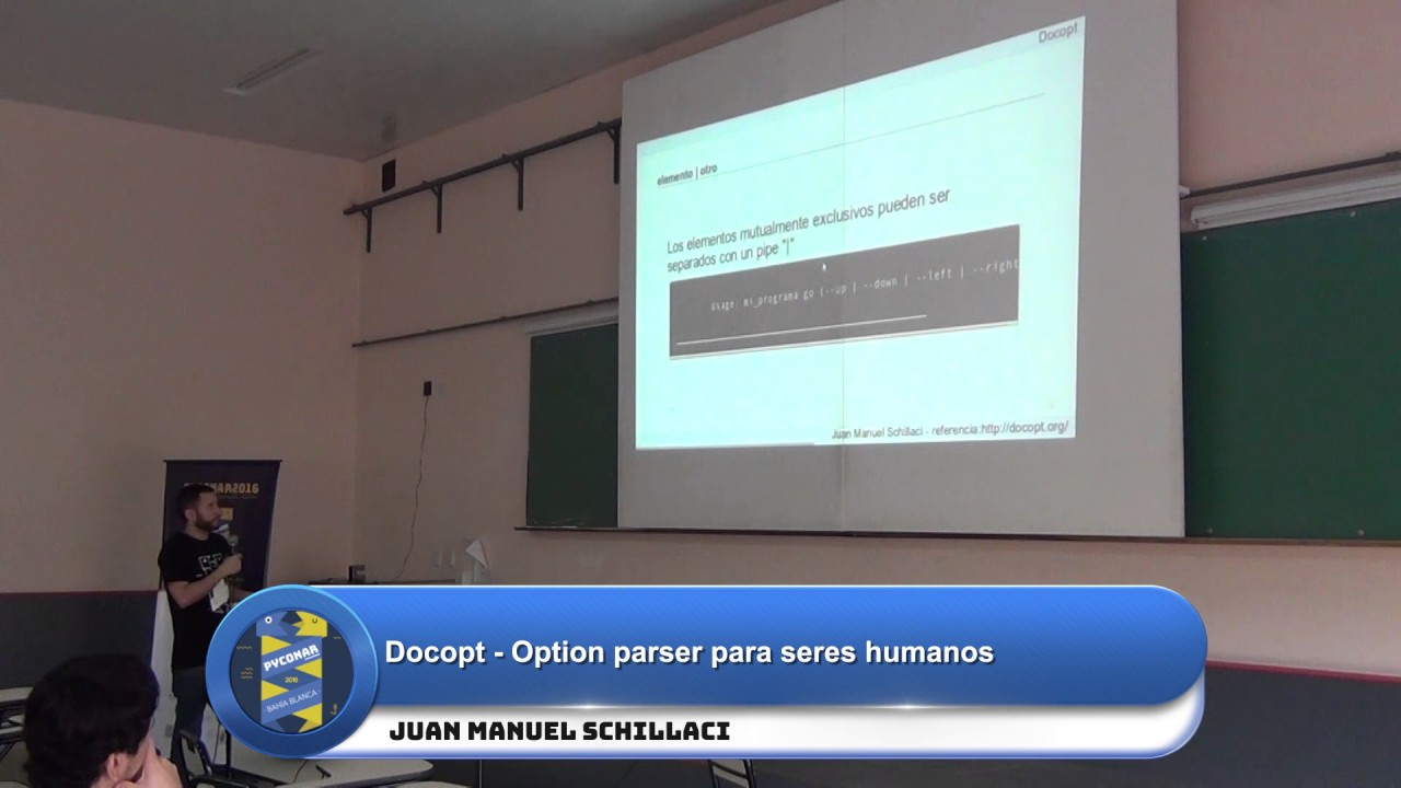 Image from Docopt - Option parser para seres humanos