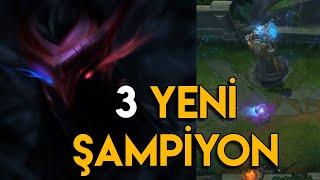 LoL : 3 YENİ ŞAMPİYON YOLDA! | Şampiyon Yol Haritası