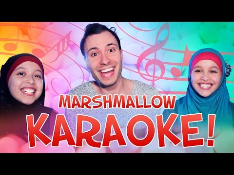 MARSHMALLOW KARAOKE! Met DailyTwinlife | #Furbruari
