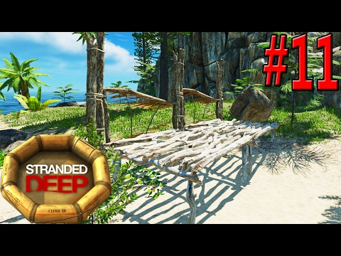 On My Raft Without a Compass In Search of Supplies To Build | Part 11 | Stranded Deep Walkhtrough