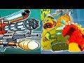 БОЛОТНАЯ Атака #41 БИТВА с БОССАМИ Мультик Игра для детей  БОССЫ  Swamp Attack #Мобильные игры