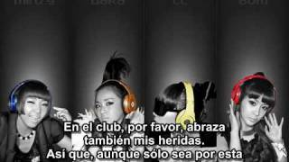 2NE1- In the club español spanish