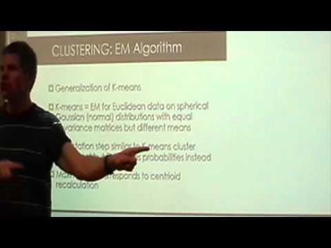 Clustering    EM