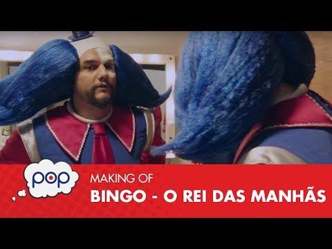 "Wagner Moura tenta ""roubar"" o papel de Bingo de Vladimir Brichta"