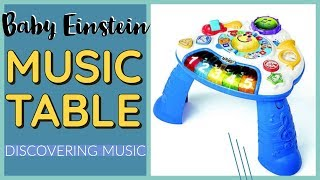 Baby Einstein Discovering Music Activity Table   Unboxing And Demo