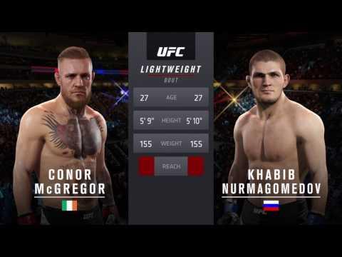 PS4 EA UFC 2 Conor Mcgregor V Khabib Nurmagomedov