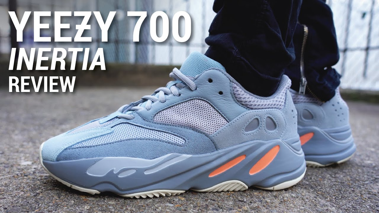6315e3a85 Adidas Yeezy Boost 700 Inertia Review & On Feet - YouTube