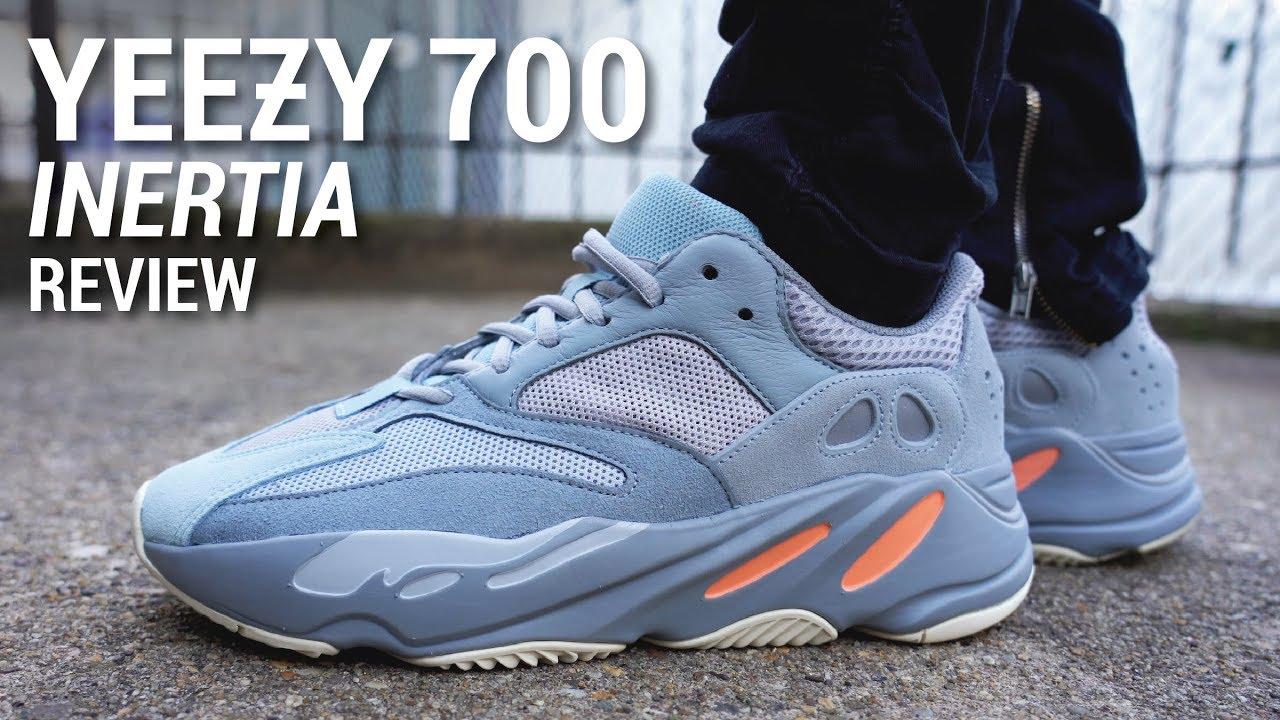Adidas Yeezy Boost 700 Inertia Review On Feet Youtube