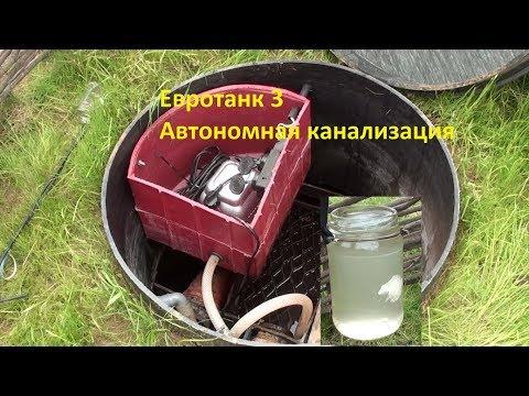 Автономная канализация (ЛОС)- Евротанк 3