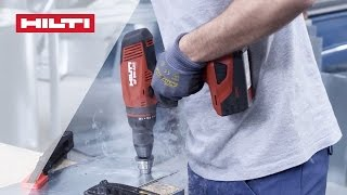 introducing the hilti sf 8m a22 ultimate cordless drill driver for metal applications
