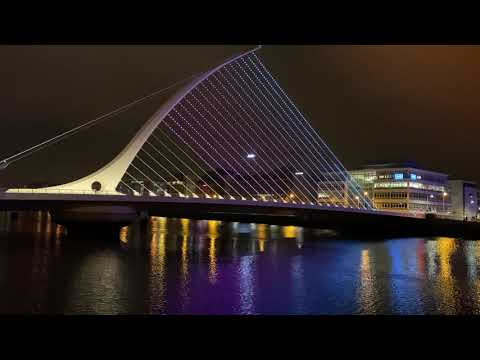 Samuel Beckett Bridge, River Liffey, Dublin, Ireland - Unravel Travel TV