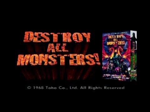 Destroy All Monsters VHS Promo (ADV Films)