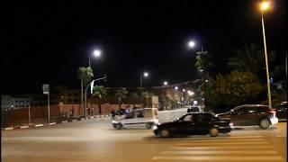 جولة ليلية بمدينة الرشيدية على أنغام الفن البلدي
