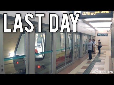 [SMRT] Last Day of Service for BP14 Ten Mile Junction LRT Station (1999 - 2019)