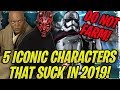 DO NOT FARM THESE ICONIC CHARACTERS IN 2019! Super Outdated in Galaxy of Heroes!