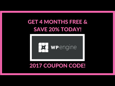The Best 2017 WP Engine Coupon Code — Get 20% Off Your Hosting Plan!