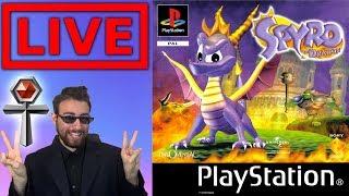 Spyro The Dragon - LIVE - Niente remake :c