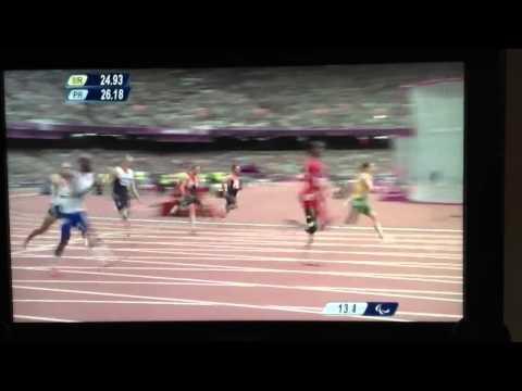 Richard Whitehead London 2012 Paralympic 200m Gold
