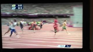 Richard Whitehead London 2012 Paralympic 200m Gold