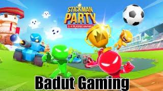 Download Stickman Party !!! ❣️ Badut Gaming