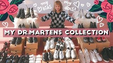Sub) 사진 속 닥마는 총 몇개일까? 10년넘게 모은 닥터마틴 전부 공개👞 My Dr.martens collection / 패션유튜버 HEYNEE