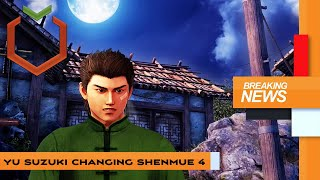 Shenews: Yu Suzuki doesn't want to make Shenmue 4 for fans!