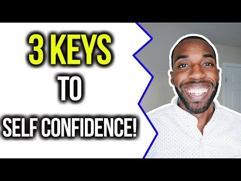 3 KEYS TO SELF-CONFIDENCE! | COREY JONES