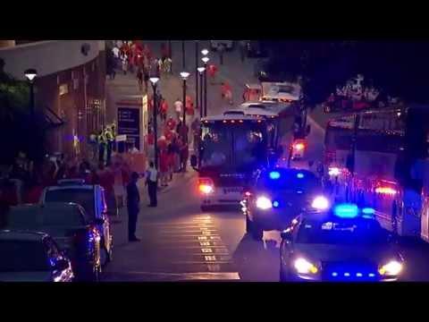 Clemson's Entrance to Stadium! Clemson vs. Georgia 8.31.2013 MustSee