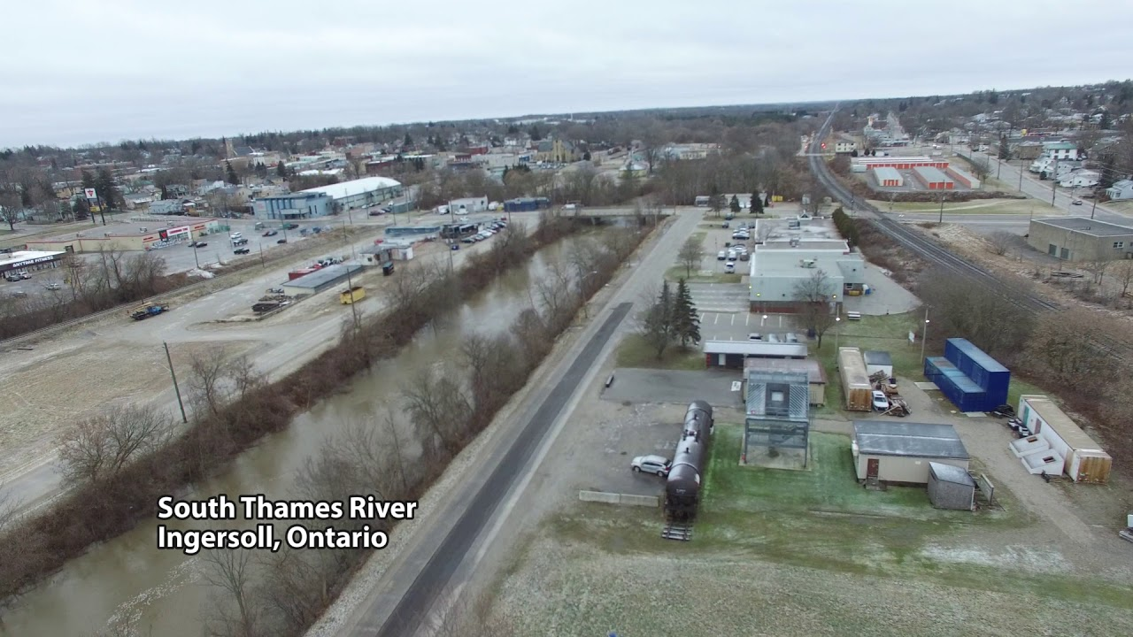Thames River High Water January 12, 2020