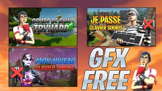 I AM GFX FREE FORTNITE AND OTHER