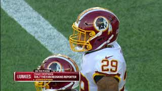 Hoffman: Redskins' season 'far from over' with Guice out