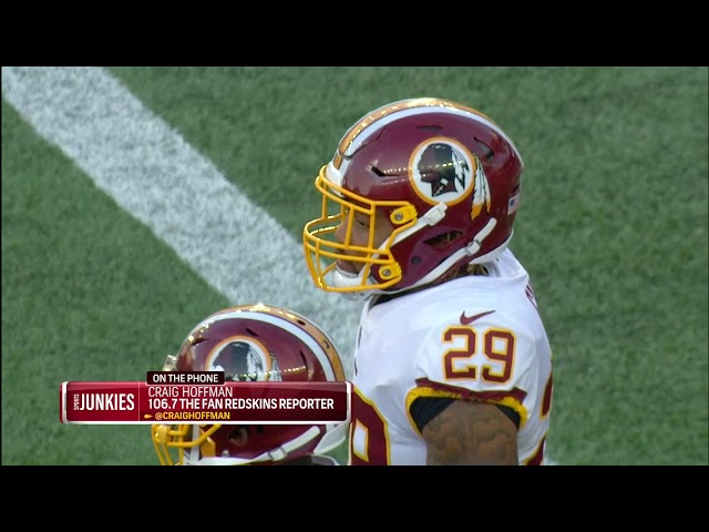 Hoffman: Redskins season far from over with Guice out