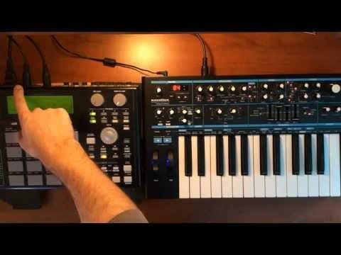 Akai MPC 1000 - Tutorial Part 2 - Sequencing external synth gear (E-MU MO'PHATT)- MIDIVERSE TV