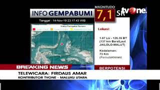 [BREAKING NEWS] Maluku Utara Diguncang Gempa M 7,1 - Berpotensi Tsunami