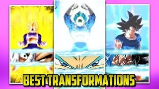 BEST TRANSFORMATIONS IN DOKKAN BATTLE | Dokkan Battle List