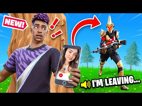 My Girlfriend LEFT ME.. This HAPPENED! (Fortnite)
