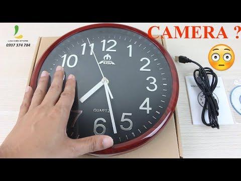 Hướng Dẫn Camera Ngụy Trang Đồng Hồ Treo Tường W39 - 1080P, Kết Nối Wifi Xem Từ Xa, Quay 24/24