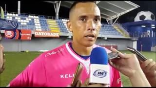 Debut de Blas Perez   Trifulca al salir del estadio   Plaza Amador 2 - Árabe Unido 1