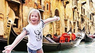 КАТАЕМСЯ НА ГОНДОЛЛЕ ПО Венеции!! ПАРКОВКА НА ВОДЕ! СКОРАЯ ПОМОЩЬ! НА КАТЕРЕ НЕВЕРОЯТНАЯ ВЕНЕЦИЯ