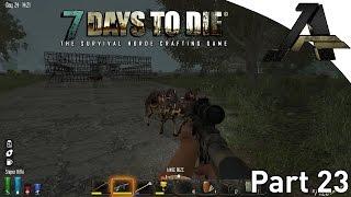 "7 Days To Die Alpha 12.1 Gameplay - Part 23 - ""new Base Build"""