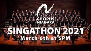 Chorus Niagara 2021 Singathon