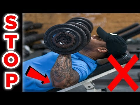 How To: Incline Dumbbell Chest Press | The WORST Dumbbell Press Mistake!!!