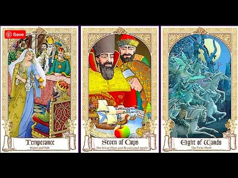 169. Fairytale Tarot Decks, a Visual Comparison: Baba Studio v Lisa Hunt + OOP Collecting Ramble