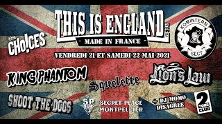 TEASER THIS IS ENGLAND #8 MADE IN FRANCE - 21 et 22 mai 2021