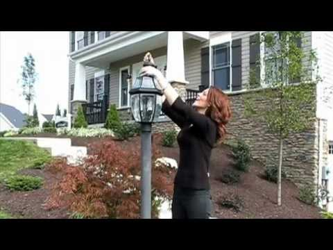 How To Change A Lamp Post Light Bulb Heartland Homes