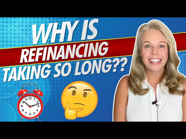 Why Is Mortgage Refinancing Taking So Long In 2020?? Mortgage Refinancing Explained 👍