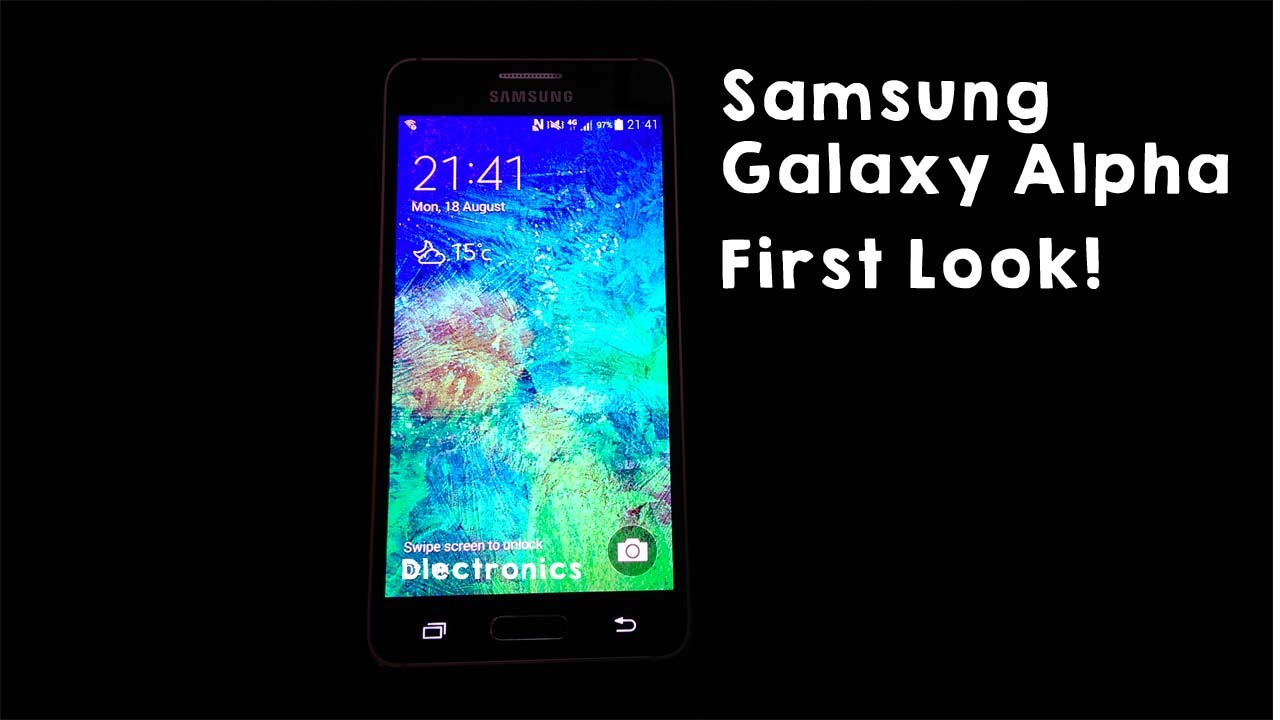 Samsung Galaxy Alpha: the First Meeting [First Look]
